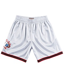 Men's Philadelphia 76ers Platinum Swingman Shorts