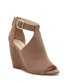 Crimsella Wedge Sandals