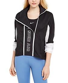Women's Air Water-Repellent Running Jacket