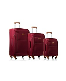 3-Pc. Classic Softside Luggage Set