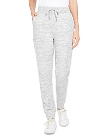 Style & Co Speckle Jogger Pants, Created for Macy's