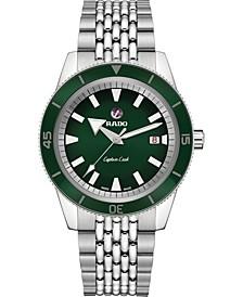 Men's Swiss Automatic HyperChrome Captain Cook Stainless Steel Bracelet Watch 42mm