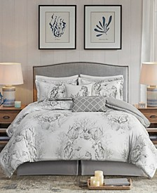 Sea Breeze 6-Piece King Comforter Set