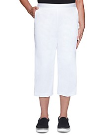 Petite Classics Capri Pull-On Pants