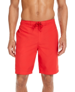 """Men's Solid Quick-Dry 9"""" Board Shorts"""