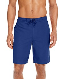 """Men's Solid Quick-Dry 9"""" Board Shorts, Created for Macy's"""