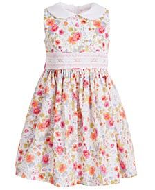 Toddler Girls Peter-Pan-Collar Floral Dress