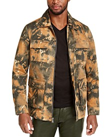 INC Men's Smith Camo Field Jacket, Created For Macy's