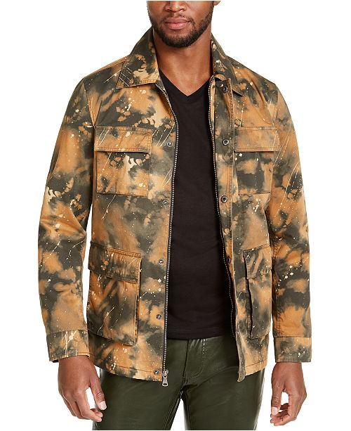 INC International Concepts INC Men's Smith Camo Field Jacket, Created for Macy's