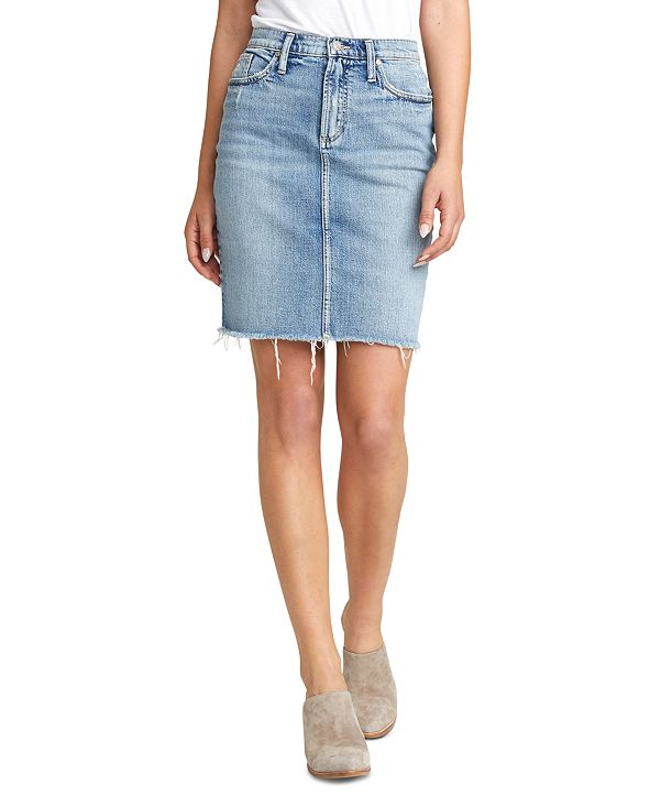 Silver Jeans Co. Frisco Denim Pencil Skirt