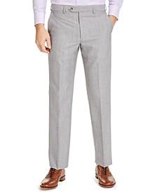 Men's Classic-Fit UltraFlex Stretch Textured Suit Pants