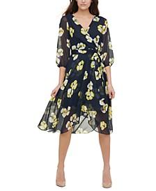 Petunia Floral Midi Dress