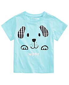 Baby Boys Cotton Woof Dog T-Shirt, Created For Macy's