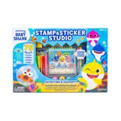 Baby Shark Stamp N Sticker