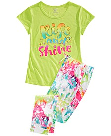 Big Girls 2-Pc. Rise & Shine Pajamas Set
