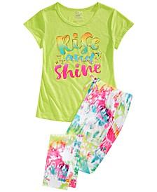 Big Girls 2-Pc. Rise & Shine Pajamas Set