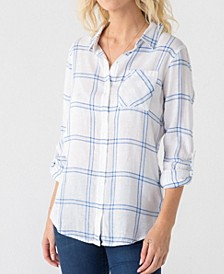 Thread Supply Soft Plaid One Pocket Shirt