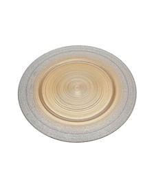 Circle Charger  Plate Silver