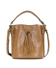 Heritage Otavia Leather Bucket Bag