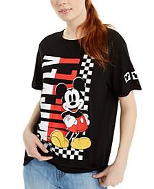 Juniors' Mickey Graphic T-Shirt