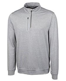 Men's Big and Tall Stealth Half Zip Sweatshirt