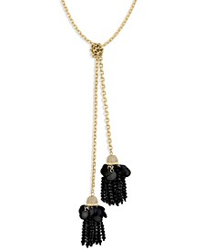 ZAXIE Luxe Black Sequin Wrap Necklace