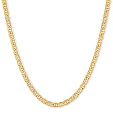"Mariner Link 22"" Chain Necklace in 18k Gold-Plated Sterling Silver"