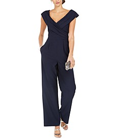 Portrait-Collar Jumpsuit