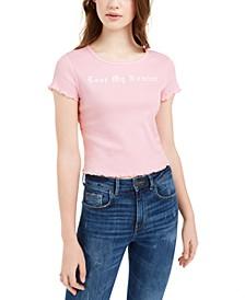 Juniors' Lose My Number T-Shirt