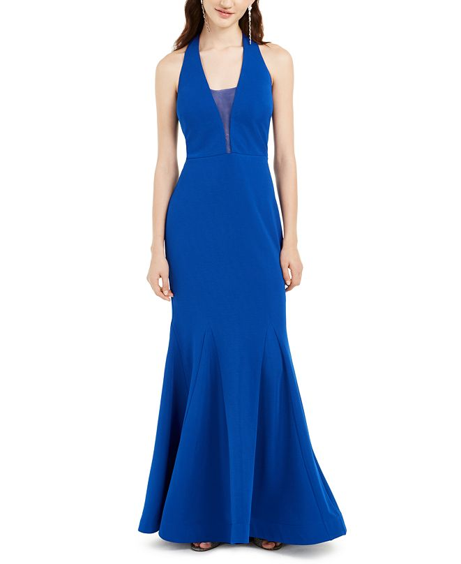 Jump Juniors' Mesh-Inset Gown