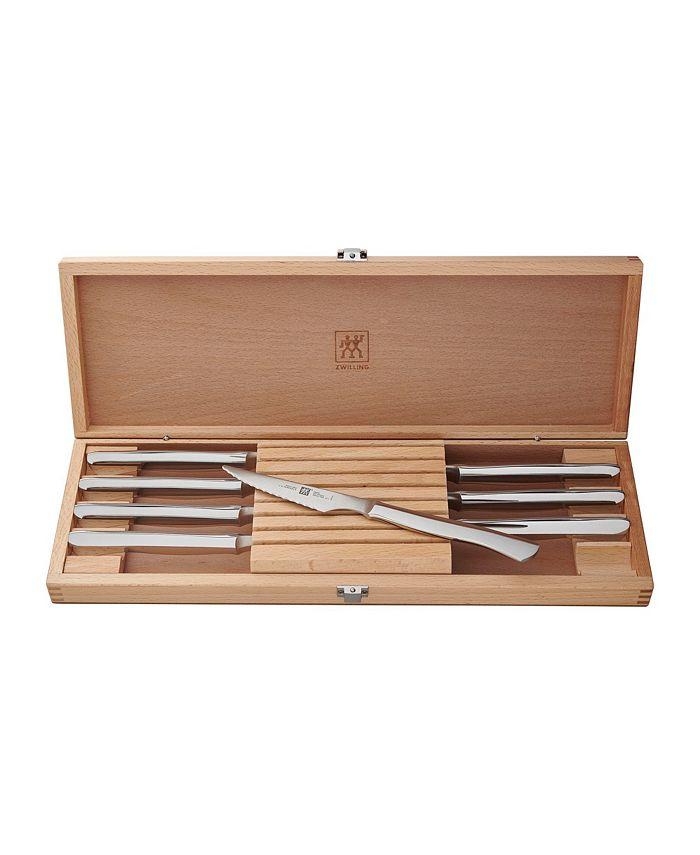 J.A. Henckels - Gourmet 8-Piece Stainless Steak Knife Set