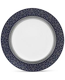 """Odessa Cobalt Platinum Accent Plate, 9"""""""