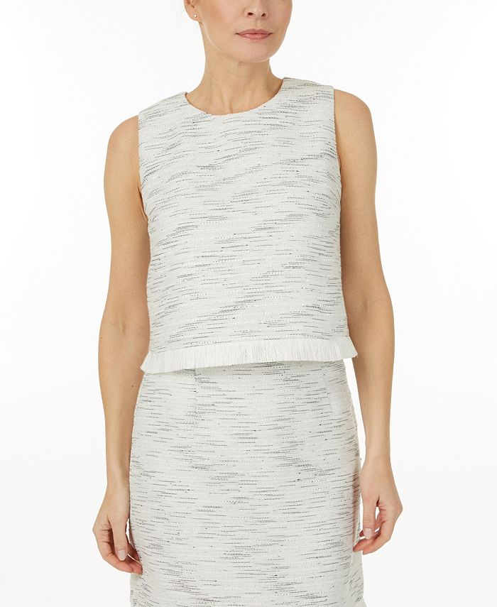 Laundry by Shelli Segal - Tweed top