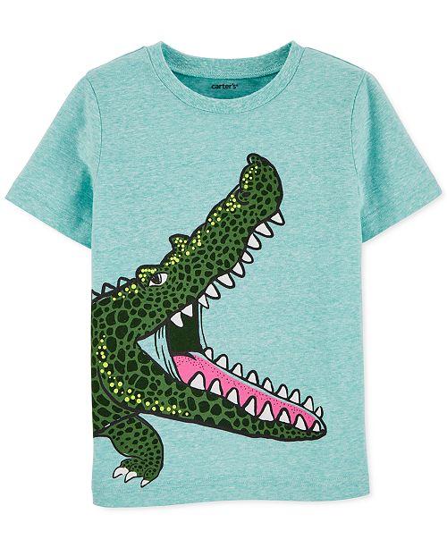 Carter's Toddler Boys Alligator-Print Cotton T-Shirt