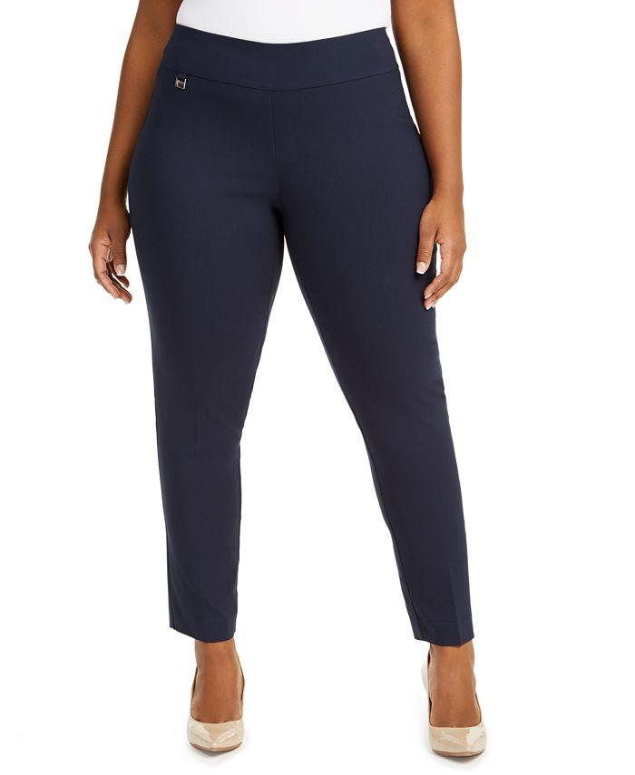 Alfani - Plus Size Pants, Modern Skinny Pull-On