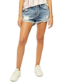Romeo Rolled Cutoff Denim Shorts