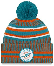 Boys' Miami Dolphins Home Sport Knit Hat