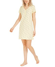 Cotton Printed Sleep Shirt, Created for Macy's