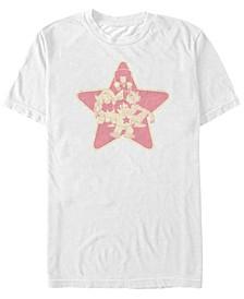 Men's Steven Universe Star Group Logo Short Sleeve T- shirt