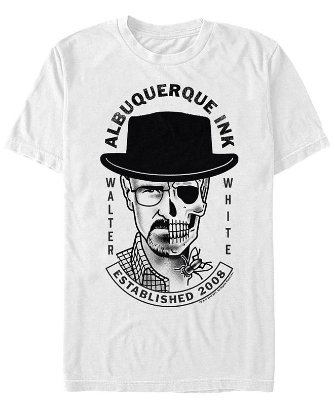 Fifth Sun Men's Walter White Albuquerque ink Short Sleeve T- shirt