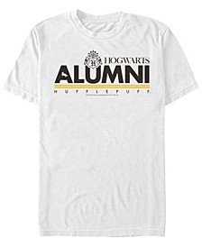 Harry Potter Men's Hogwarts Alumni Hufflepuff Short Sleeve T-Shirt