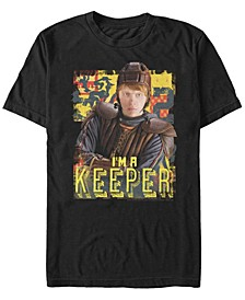 Harry Potter Men's Ron Weasley I'M A Keeper Quidditch Player Short Sleeve T-Shirt