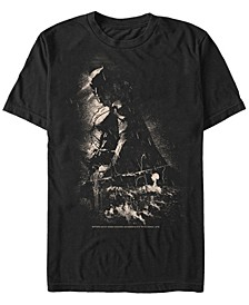DC Men's Batman Stormy Shadows Short Sleeve T-Shirt