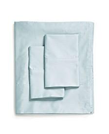 420 TC Supima Sheet Set with Hem Stitch, Twin
