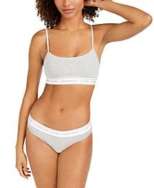 CK One Cotton Bralette & Bikini