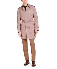 Men's Slim-Fit Viaggo Trench Coat