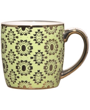 Home Essentials Metallic Green Mug