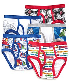 Marvel's® 5-Pk. Cotton Briefs, Little Boys & Big Boys