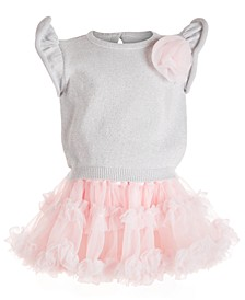 Baby Girls 2-Pc. Sweater & Statement Skirt Set, Created For Macy's