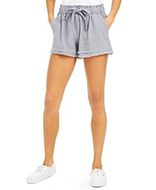 Juniors' Frayed Shorts